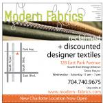 modern charlotte - modern fabrics logo